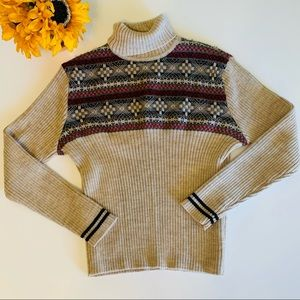 Ann Taylor Wool Fair Isle Sweater